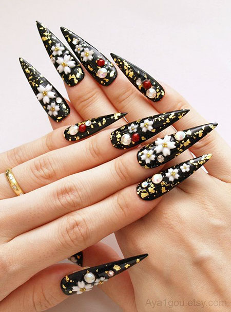 Nails Nail Long Japanese