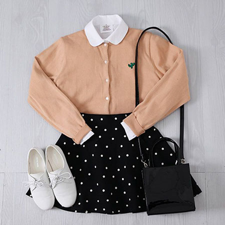 Fashion Korean Coat Trench