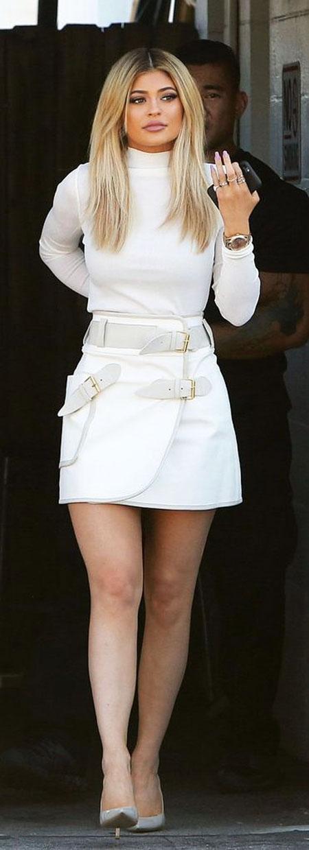 Hair White Kardashian All