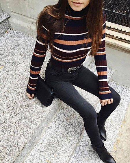Outfits Black Jeans Fashion