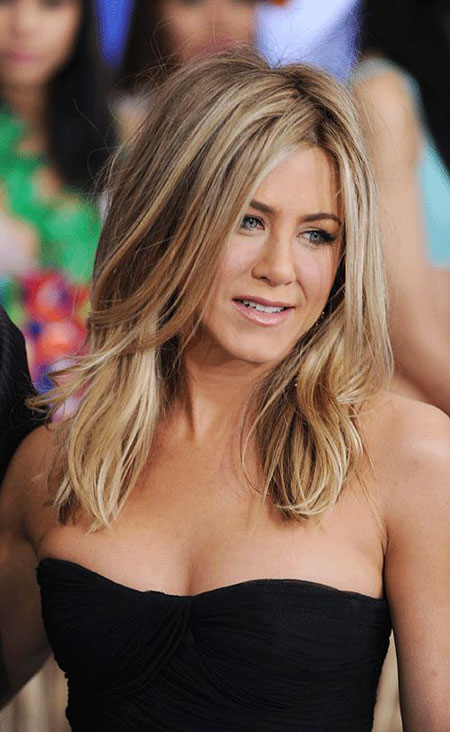 Hair Aniston Jennifer Length