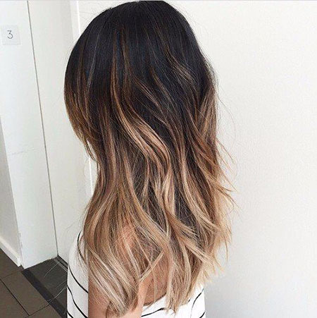 Balayage Hair Brown Light