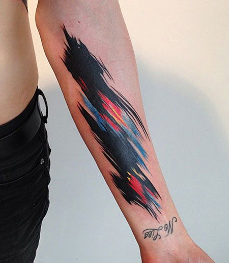 Tattoo Feather One Love