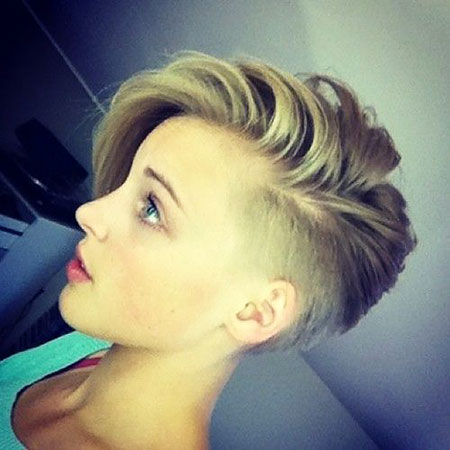 Short Pixie Hair One