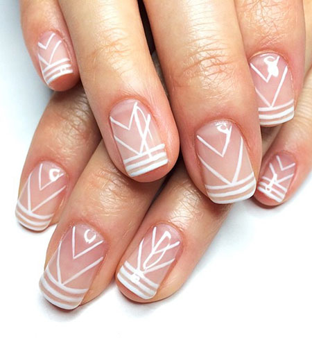Nail Simple Tribal Nails