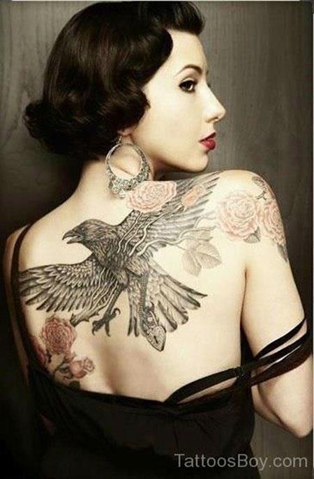 Tattoo Back Eagle Chest