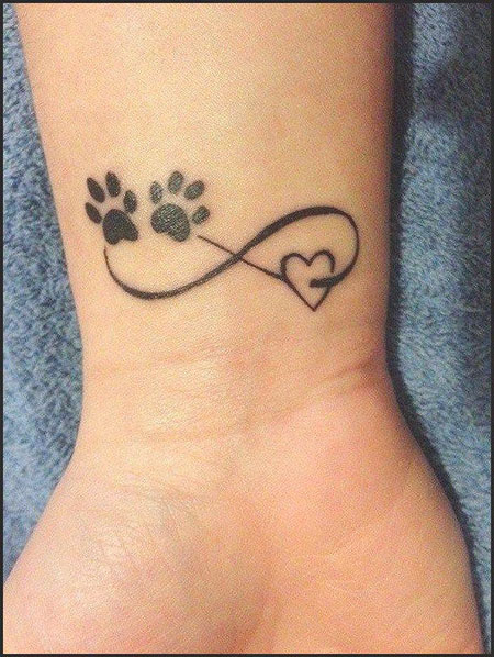Tattoo Tattoos Print Paw
