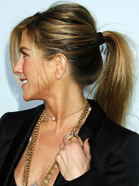 Hair Ponytail Jennifer Aniston