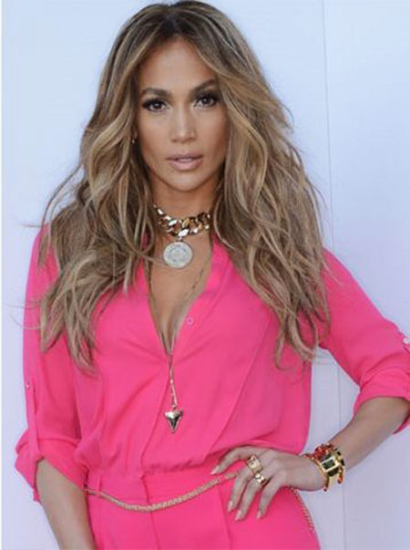Hair Blonde Jennifer Lopez