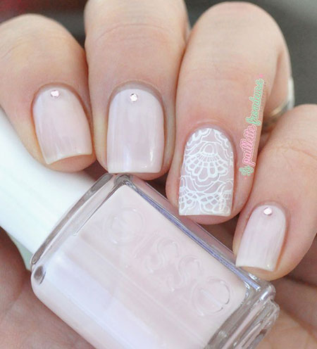 14 Lace Wedding Nails 761