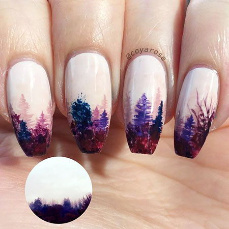 Nail Art Polish Cute
