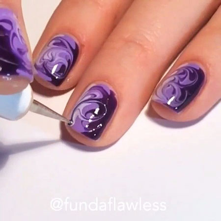 Nail Ideas Purple Designs