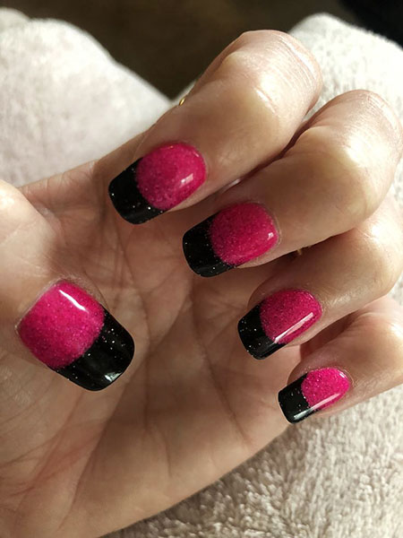 Pink Nail Polish Gel