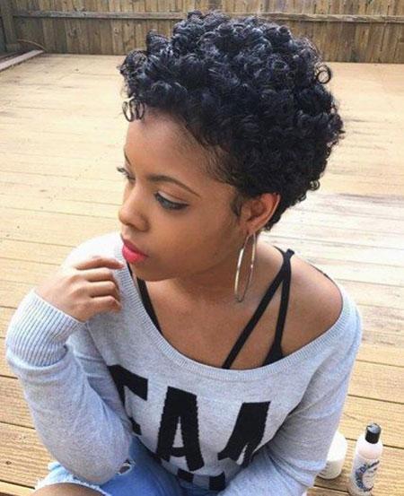 Hair Black Curly Women