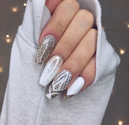 Nail Nails White Designs