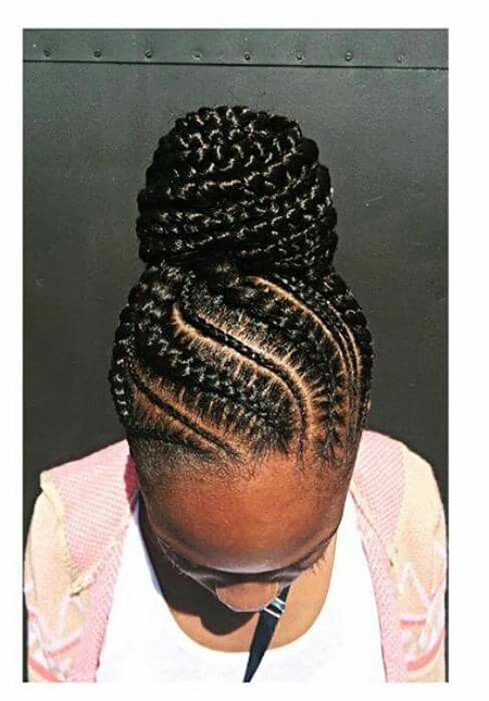 Braids Braided Black Flat