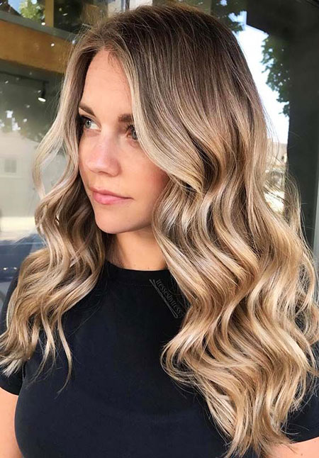 Blonde Hair Balayage Ash