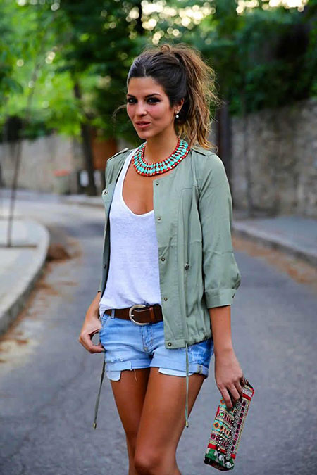 Fashion Summer Denim Style