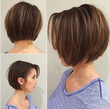 Short Bob Hair Fine