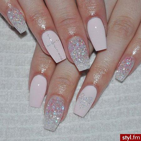 Glitter Nails Nail Manicure