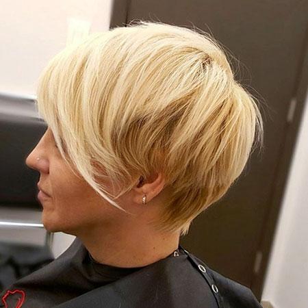 Blonde Pixie Choppy Long
