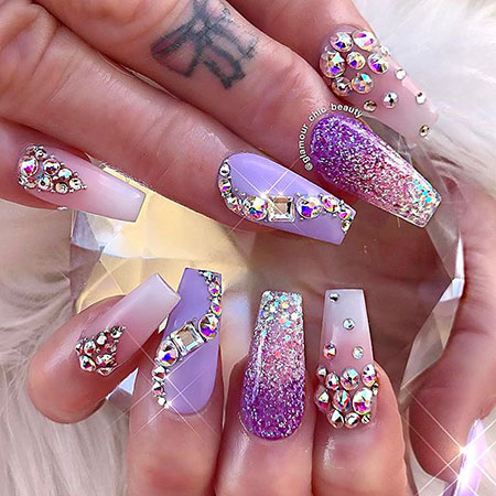 Nails Nail Glamour Bling