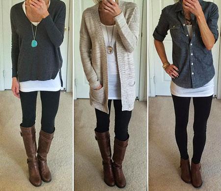 Outfits Black Fashion Fall