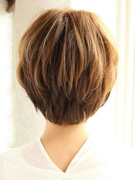 Short Over Bob Layered