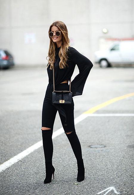 Style Fashion All Black