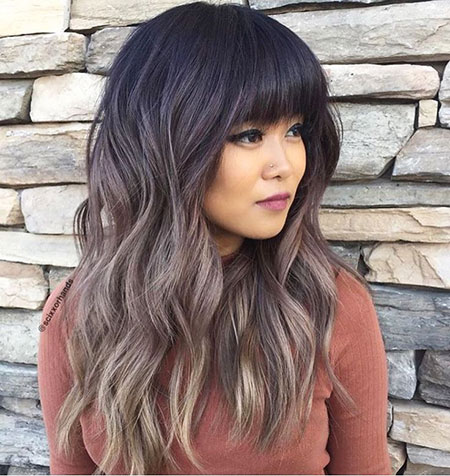 Hair Brown Ombre Long