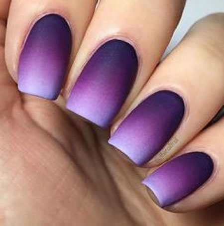 Ombre Nails Nail Matte