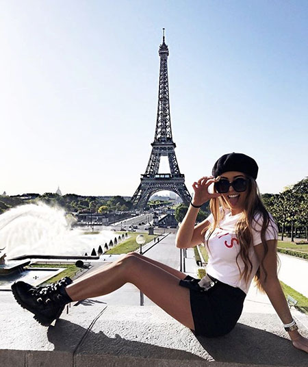 Eiffel Paris France Summer