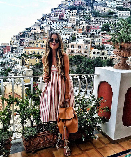 Fashion Summer Style Amalfi