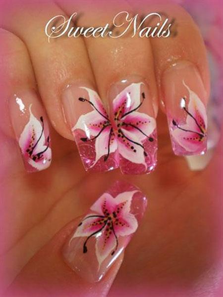 Nail Art Nails Flower