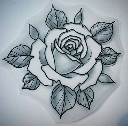 Rose Tattoo Flower Tattoos