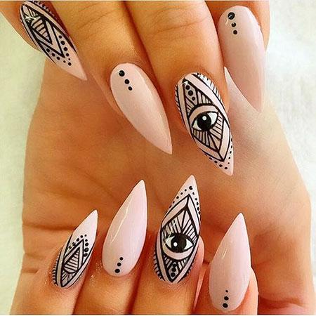 Nail Stiletto Nails Art