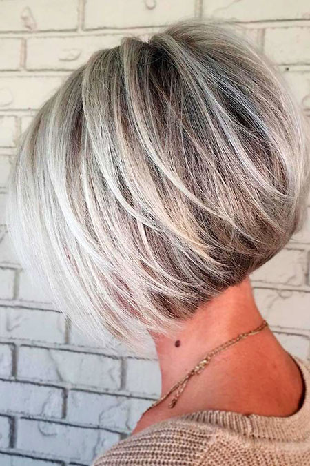 Short Bob Layered Hair