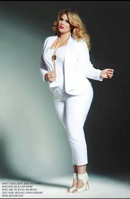 White Fashion Plus Big