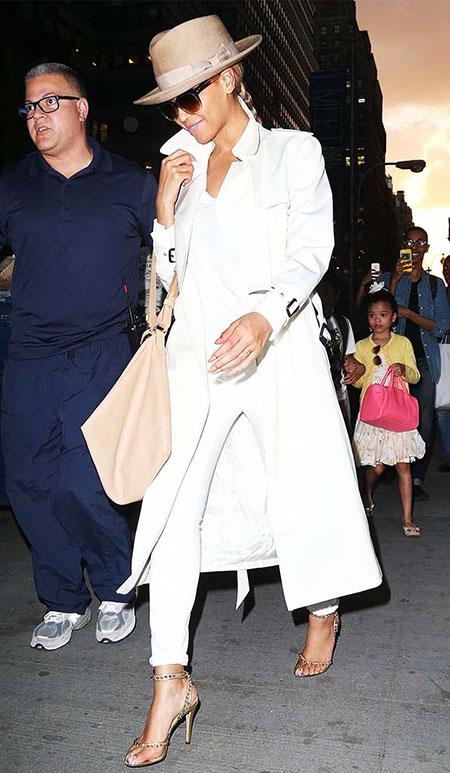 All White Fashion Women's