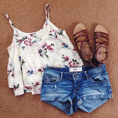 Summer Fashion Cute Teens