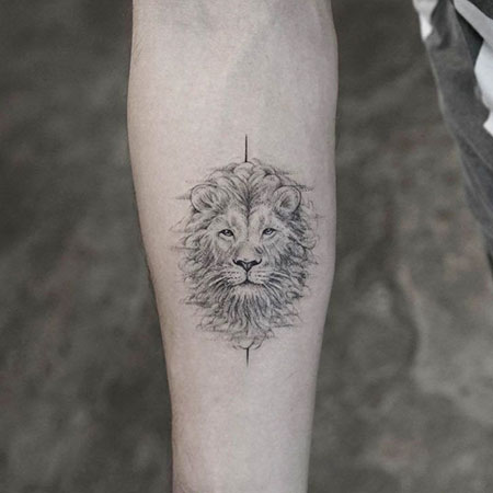 Tattoos Tattoo Lion Head
