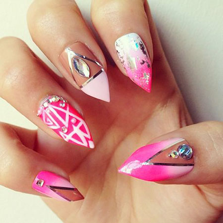 Nails Nail Stiletto Designs