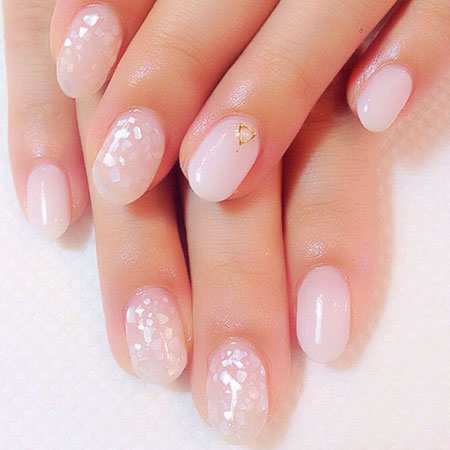 Nail Nails Natural Bridal