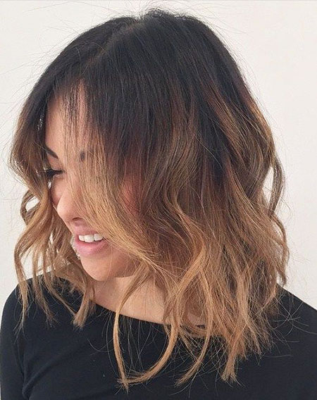 Ombre Brown Hair Color
