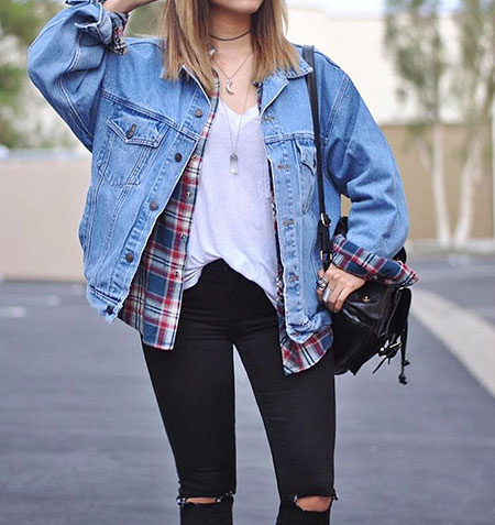 Jean Winter Denim Jacket