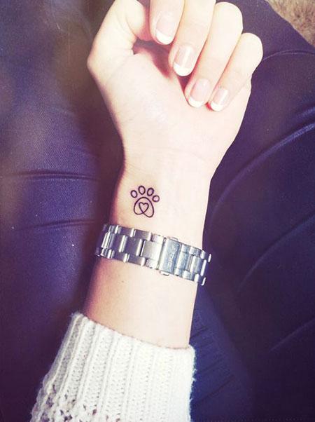Tattoos Paw Tattoo Small