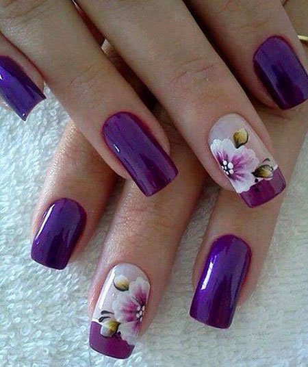 Nails Purple Nail Designs