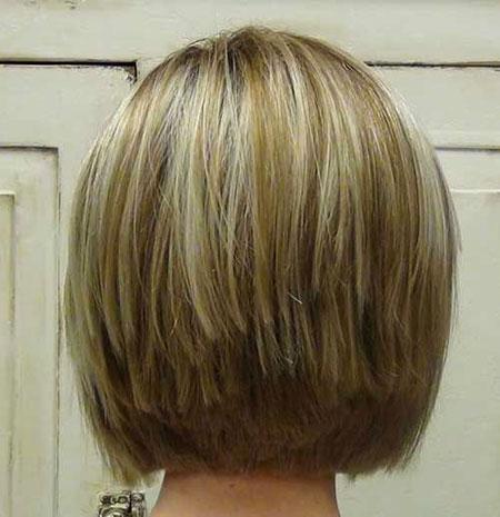 Bob Hair Short Bronde