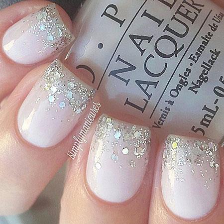 Nails Nail Glitter Manicure
