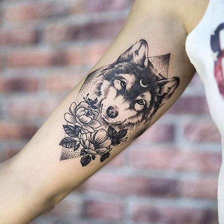 Tattoo Wolf Tattoos 2